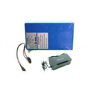 Batterie 48V 21Ah PVC + Chargeur 4A