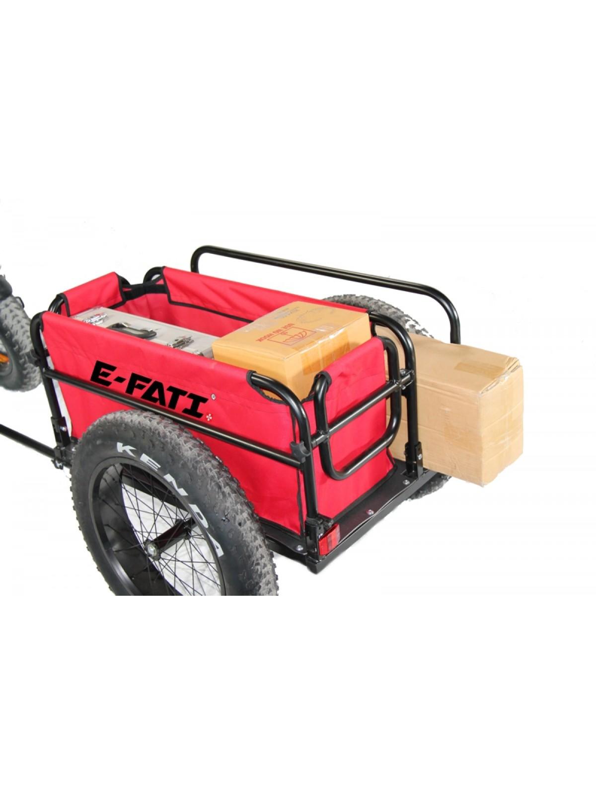 Trailer fat 2 wheels